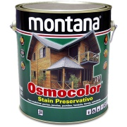 Stain Osmocolor Cores Sólidas Acetinado - Branco Neve - 3,600L - Montana