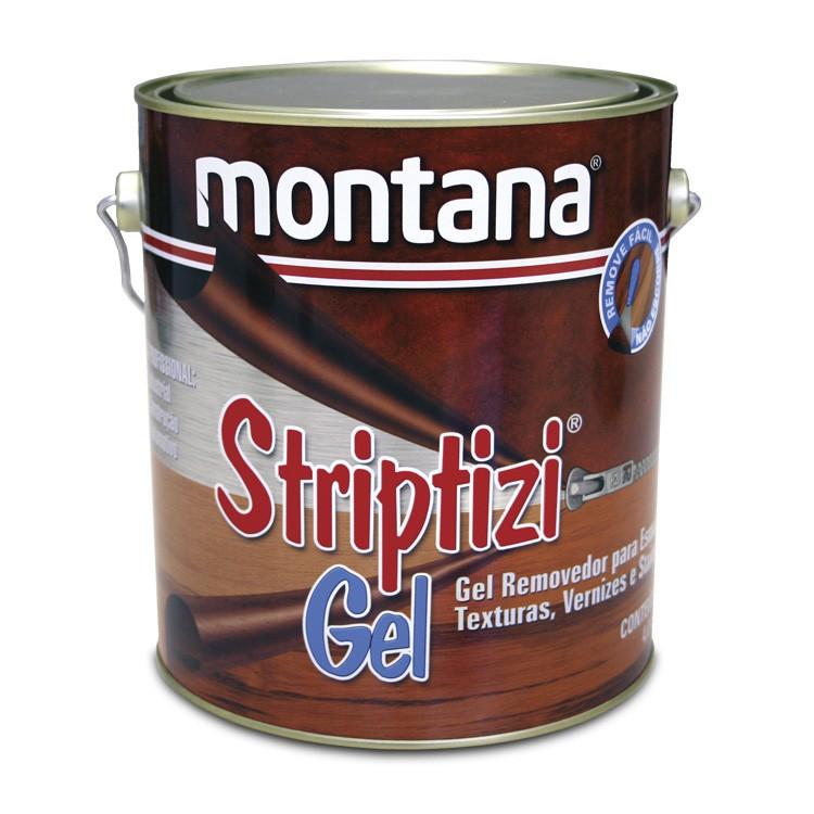 Removedor em Gel de Esmalte e Verniz Striptizi 4 kg - Montana