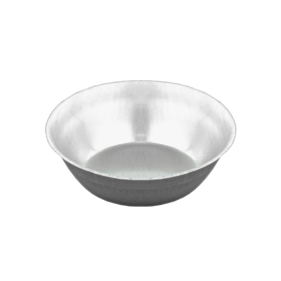 Forma de Aluminio Redonda 5cm 12 Pecas - Aluminio Jauli