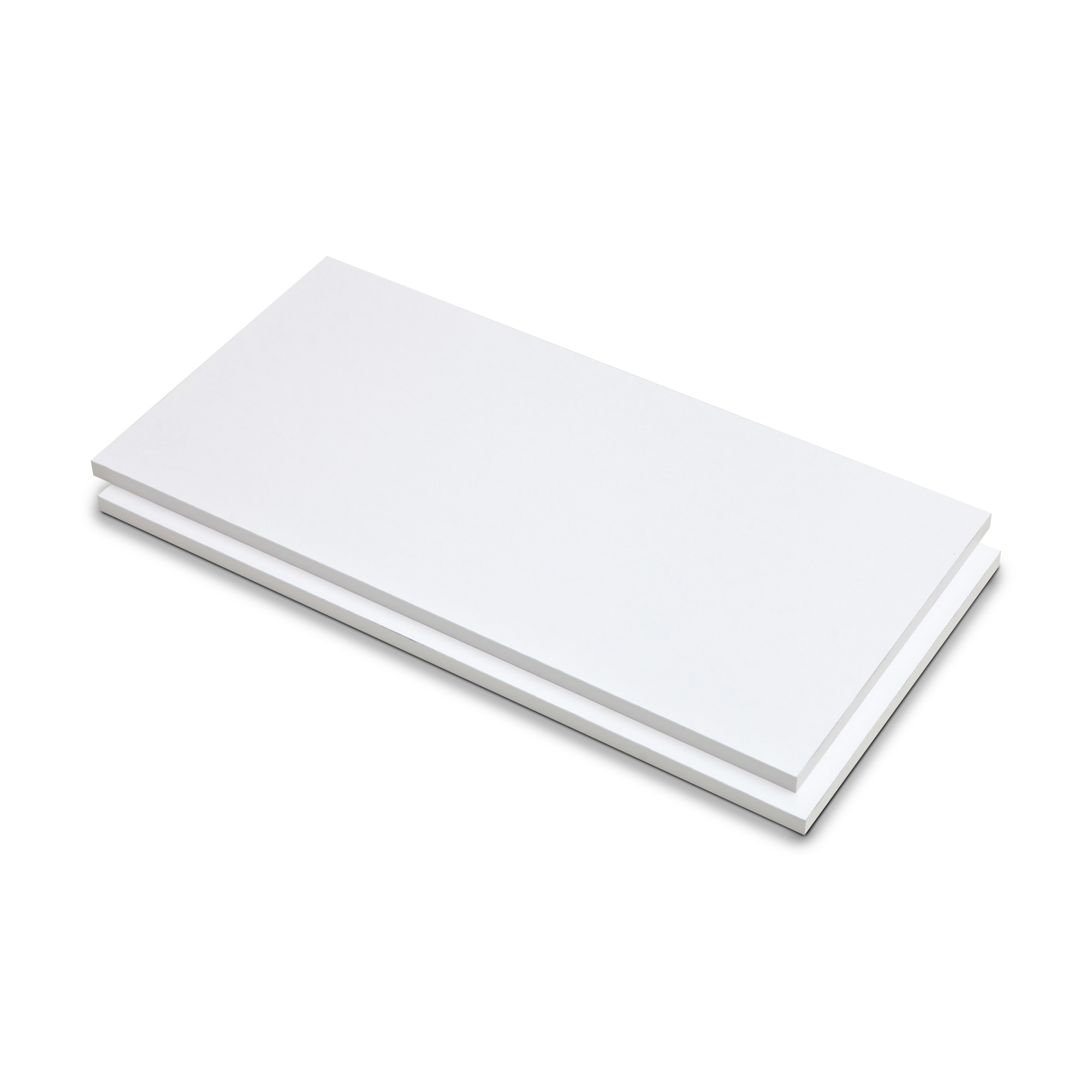 Prateleira de Madeira 30cm x 150cm Branco 605153 - Fico
