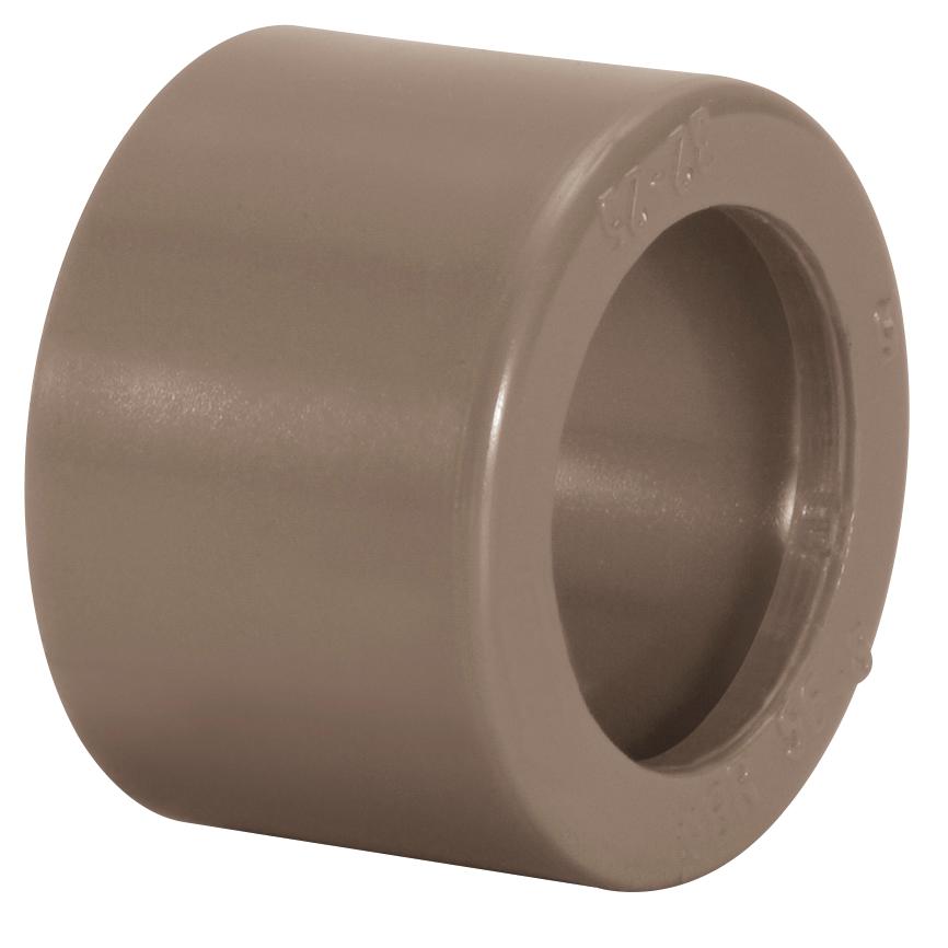 Bucha de Reducao Curta Soldavel PVC Marrom 110 mm x 85 mm - Amanco