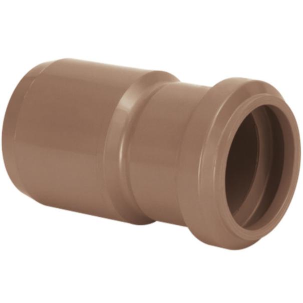 Reducao de Reducao PVC Marrom 100 mm x 50 mm - Amanco