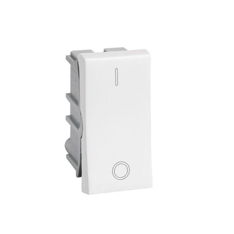 Modulo Interruptor Bipolar 1 Modulo 10A - Branco - Plus - Legrand