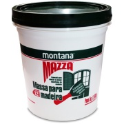 Massa Para Madeira Mazza - Mogno - Balde 1,600Kg - Montana