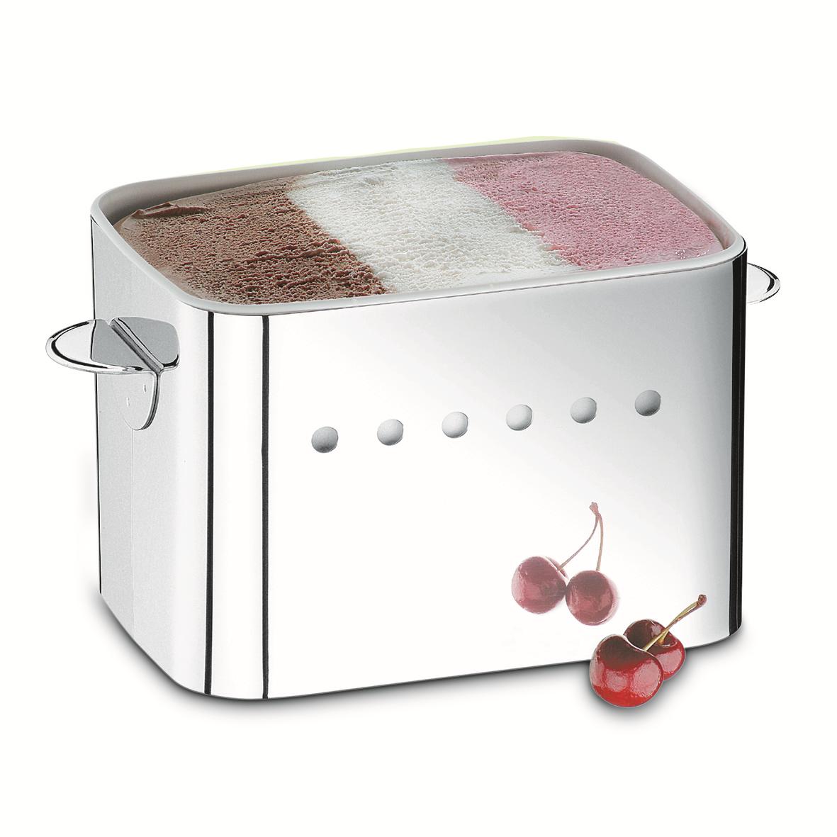 Suporte sorvete inox para pote 20L 1568100 Linha Parma - BRINOX