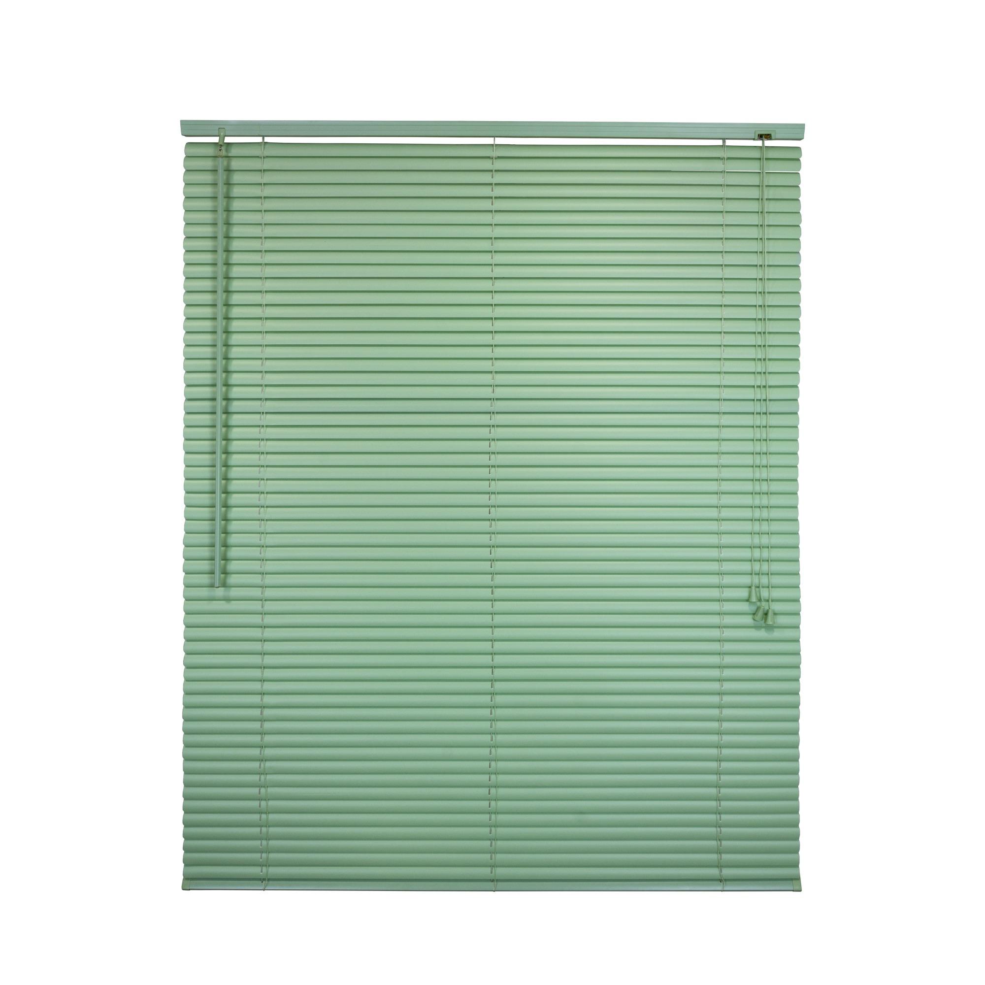 Persiana Horizontal PVC 100x125 cm Verde - Liyang