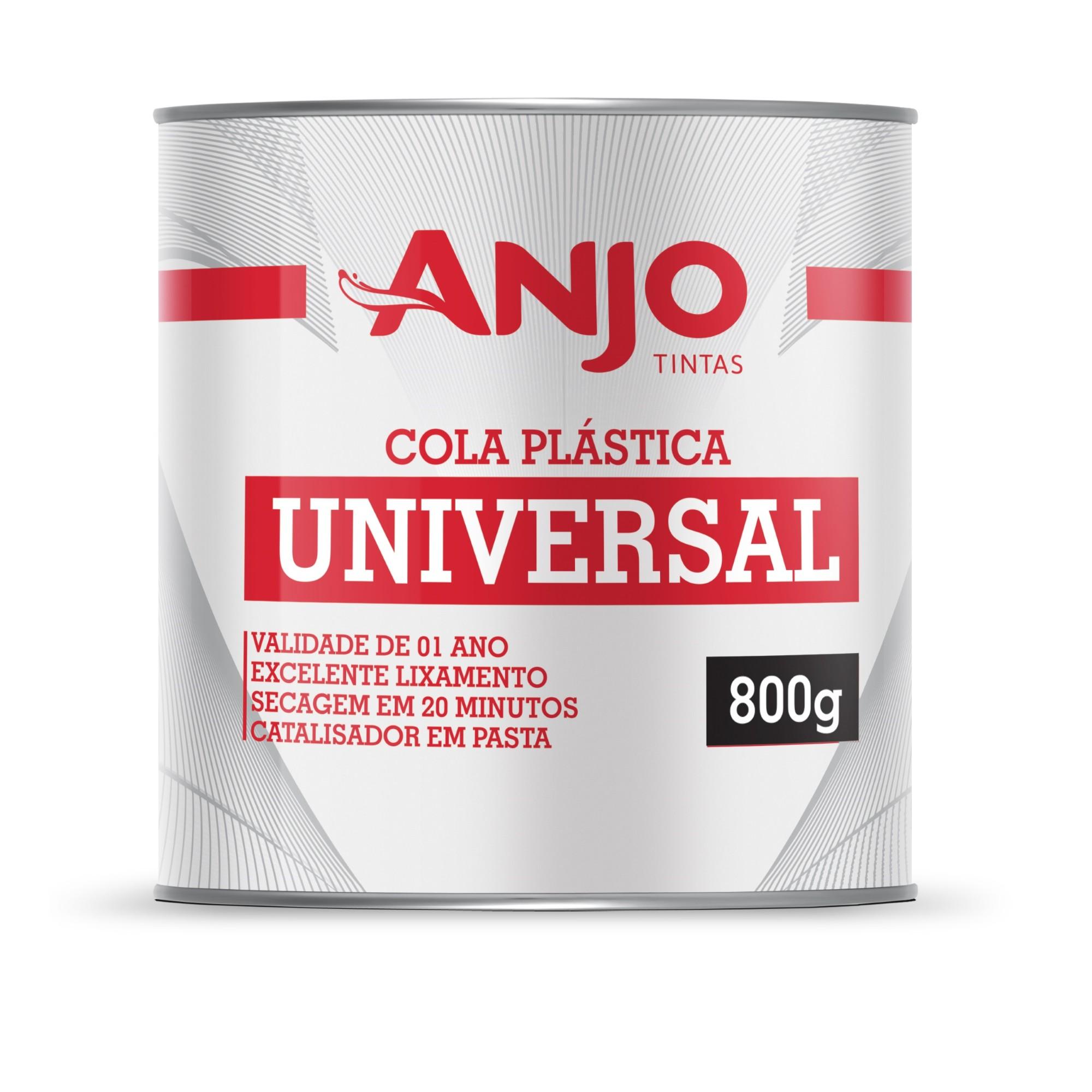 Cola Plastica Universal 800g - Anjo