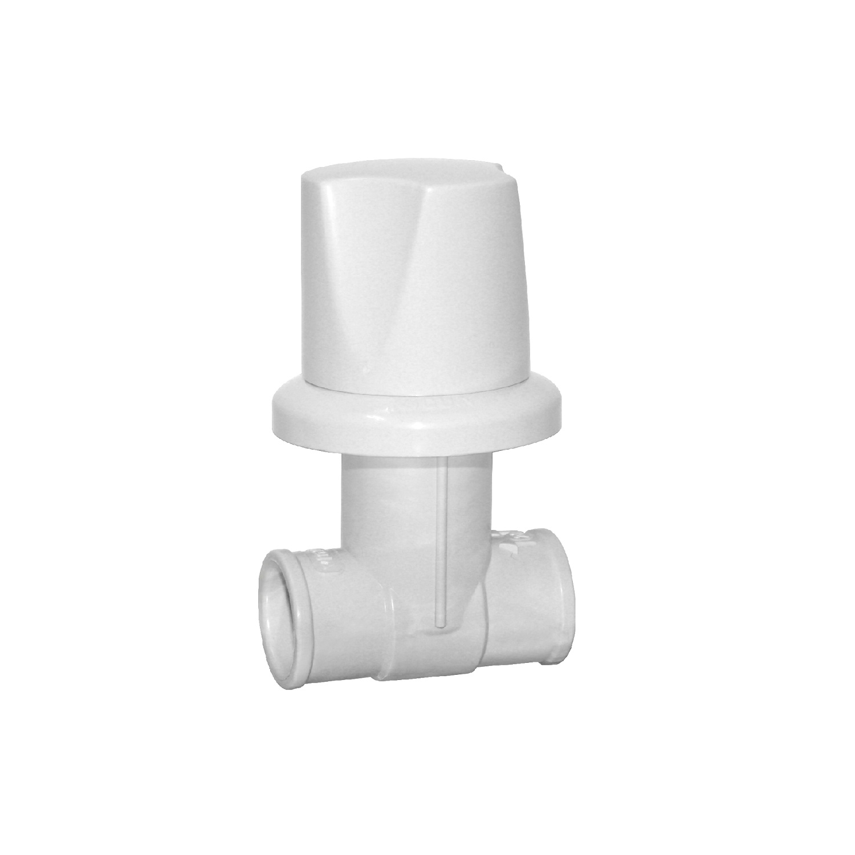 Registro de Pressao Soldavel PVC para Chuveiro Redondo 25mm - Viqua